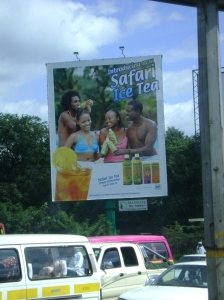 Iced Tea in the kenyan market...but the packaging is horrible
