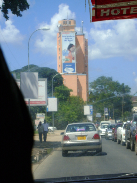 Vodacom Billboard in Dar