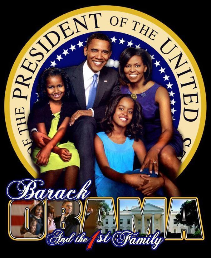 barack-obama-the-44th-prezzo-of-the-usa & family