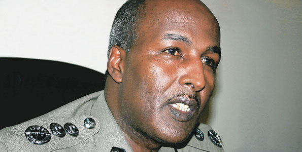Police Commissioner Major General Ali